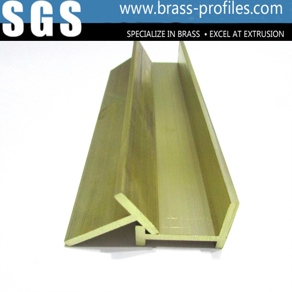 Quality Copper Extruding Window Case and Brass Window Sections for Decoration for sale
