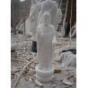 Marble Carved Large Amitabha Buddha Statues