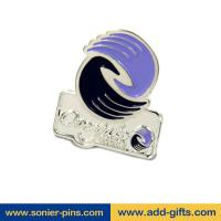 ADDGIFTS high quality lapel pins zinc alloy die cut lapel with safety pins