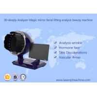 China 3d Deeply Analyzer Home Use Beauty Device Black Color 1 Year Warranty wholesale