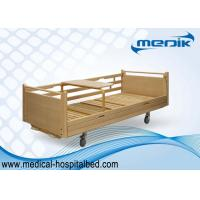 China CE ISO Two Crank Medical Home Care Beds For Geriatrics / Disabled wholesale