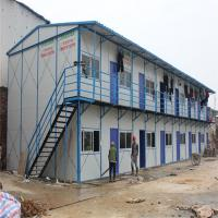 China light steel inexpensive prefab homes with PVC sliding window for workers house on sale