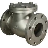 China Performance Swing Check Valve WCB DN100 PN100 , RF /  RTJ / BW End Connection on sale