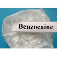 China CAS 94-09-7 Steroids Raw Powder Local Anesthetic Series Benzocaine For Pain Relief wholesale