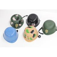 China Camouflage Construction Kids Plastic Hard Hats For Digging In Sand Box on sale