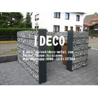 China 656 Double Wire Welded Gabion Fences, Gabion Box Baskets Retaining Walls, Garden Landscaping Wire Mesh Stone Cages on sale
