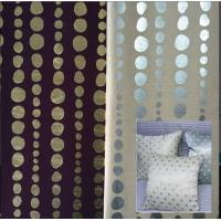 China Bronzing Dupioni/silver plating Dupioni Fabric for pillow cases wholesale