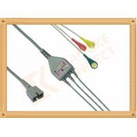 China Ecg Patient MEK Cable 9 Pin One Piece 3 Leads for MEK MP1000  MP600  MP500 wholesale