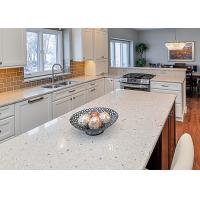 China Waterproof Eased Edges Stone Kitchen Countertops With Cabinet wholesale
