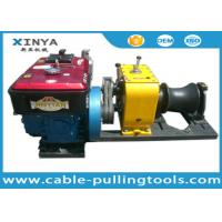 China Heavy Load 80KN Cable Winch Puller For Overhead Line Transmission wholesale