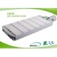 China IP65 180w LED Roadway Lighting 130lm / W Angle Adjustabe For Both Vertical And Horizontal Pole wholesale