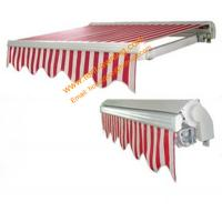 China Durable Motorized Remote Control Retractable Half Cassette Awning wholesale