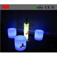China * Led high Cube Glass table   on sale