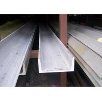 China 304 U Stainless Steel Channel Cold / Hot Rolled With Strong Corrosion Resistance wholesale