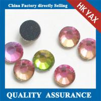 China China wholesale high quality 12 facets crystal ab dmc crystal hotfix rhinestone on sale