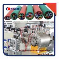 HDPE microduct bundle extrusion machinery 2/4/7/14 ways