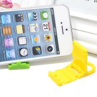 China PP Folding Cell Phone Stand Plastic Phone Accessories Display Stand wholesale