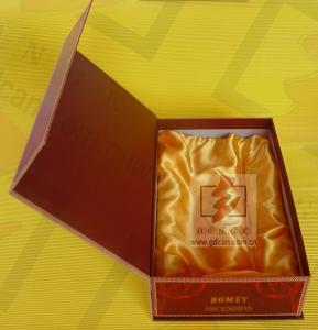 China Biodegradable Packaging Garment Gift Boxes Cardboard Gloss Lamination wholesale
