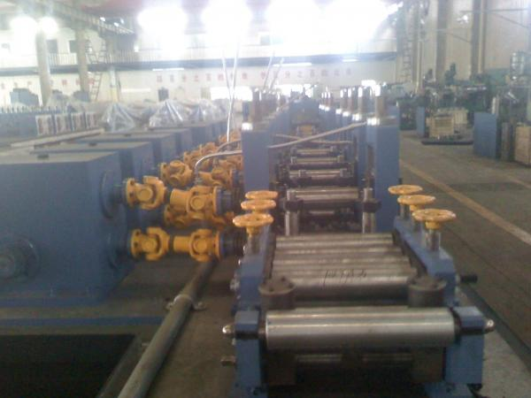 Quality Flying Saw Tube Forming Machine 2 Inch Steel Round Pipe Section Pipe for sale