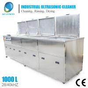 China Dispositivo de la limpieza ultrasónica de los turbocompresores con los 4 tanques, ultrasónicos/enjuague/que se seca wholesale