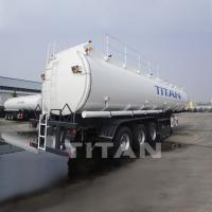 China 54,000 litres semi tanker trailers petroleum tanker trailers high quality fuel tank trailer for sale wholesale