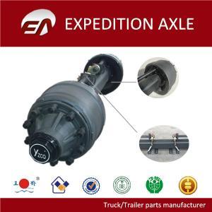 China 25T American type square tube FUWA trailer axle wholesale