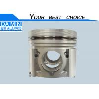 China 4JG1 Isuzu Piston 8972206040 For Excavator Bright Surface Alfin Frist Ring Groove wholesale