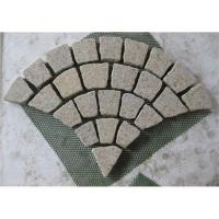China Paving stones on mesh with G682 wholesale
