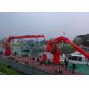 China Marine deck knuckle telescopic boom crane hydraulic crane and easy maintance wholesale