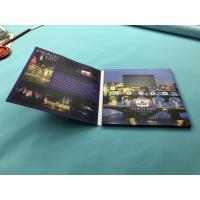 China TFT Digital Video Brochure Printed Video Greeting Folder Cards 2.4/2.8/4.3 Inch 256mb wholesale