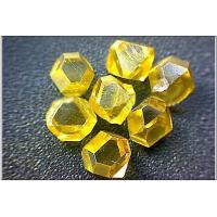 China Synthetic single crystal diamond for Electron / Spaceflight , High Wear Resistance wholesale