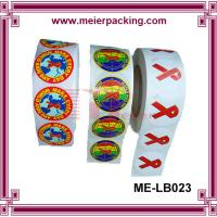 China Custom self-adhesive printing roll sticker/Printed labels colorful print vinyl sticker ME-LB023 wholesale