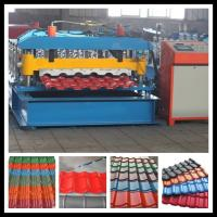 small roof tile manufacturing machine