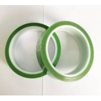 China Single Side Light Green High Temperature Resistant Tape 650mm Length on sale