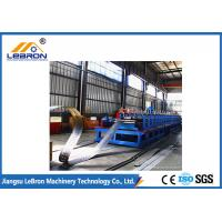 China PLC Control Automatic Cable Tray Roll Forming Machine new type made in china long time service Blue red color wholesale