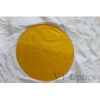 Buy cheap BK7 optical yellow filter for camera filter from China from wholesalers