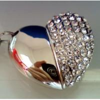 China Metal Heart Shape USB Flash Drives 1gb-64gb China Supplier wholesale