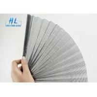 China Polyester Plisse Retractable Screen , 80g/M2 Weight Pleated Fly Screen wholesale