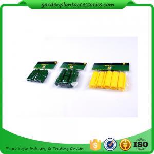 China Greenhouse  Film Clip Garden Cane Connectors / Garden Stake Connectors 19mm 22mm 25mm 10pcs ctn qty 100 wholesale