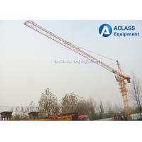 Construction Hammerhead Tower Crane 40m Free Height 150m Max Height Lifting