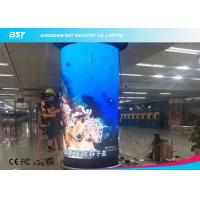 China 360 Degree Flex LED Video Wall , Waterproof Flexible LED Panel 1920Hz wholesale