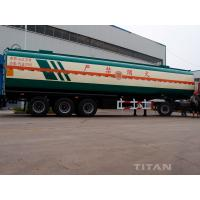 China 3 axle fuel tank trailer with Oil tanker to carry Diesel for 37,000 liters with 6 compartments for sale wholesale
