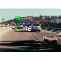 Universal OBD2 Heads Up Car Display 4 Inch HD Screen Brightness Adjustable PC+ABS Material