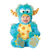 China Monster Infant Baby Costumes Baby Bunting Halloween Costumes , Blue wholesale