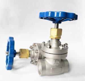 China DN40 CryogenicStainless Steel Globe Valve Short Stem Cryogenic System wholesale