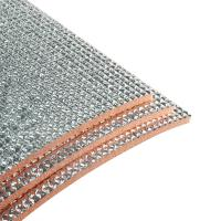 China Dust Free Self Adhesive Insulation Foam Fireproof Material 0.5-60MM Thickness wholesale