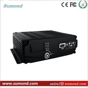 China 4CH 1080P AHD Digital Video Recorder GPS Car DVR SD Card CCTV HD Vehicle Camera wholesale