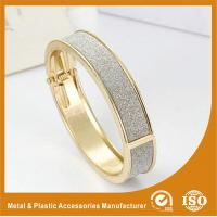 China Antique Charm Zinc Alloy Gold Plated Metal Bangles For Women Gift wholesale