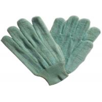 China Dark Color Heat Resistant Gloves Customized Logo Printed For Glass Industry wholesale