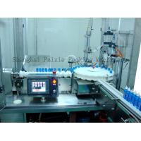 China Mosquito Liquid Spray Aerosol Filling Machine And Can Sealing Machine With PLC Control wholesale